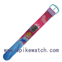 Children colorful anime digital watches for boys