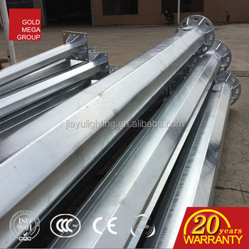 0af5291f65d00 China factory price 8m round conical used parking lot lamp post classical  street lighting pole for