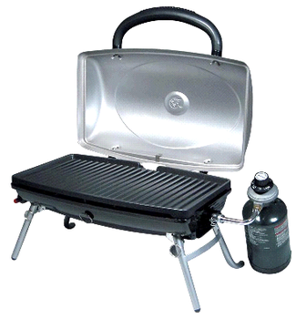 Portable Table Top BBQ Barbecue Propane LP Gas Grills U0026 Griddles With Drip  Tray For Camping