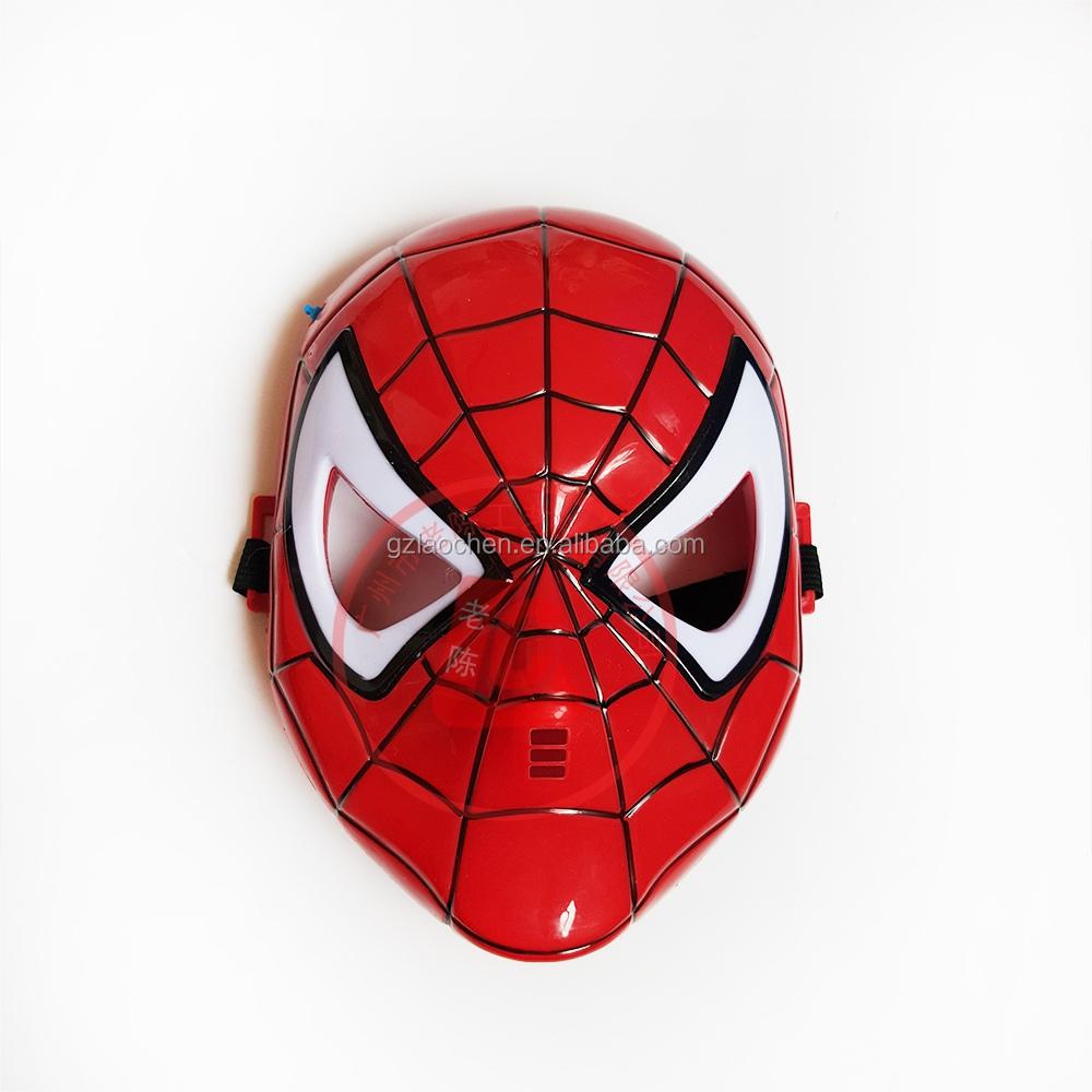 simple design mask children s cartoon face spiderman mask halloween