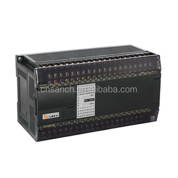 New design sanch 60 IO points PLC programmable logic controller with easy programming software