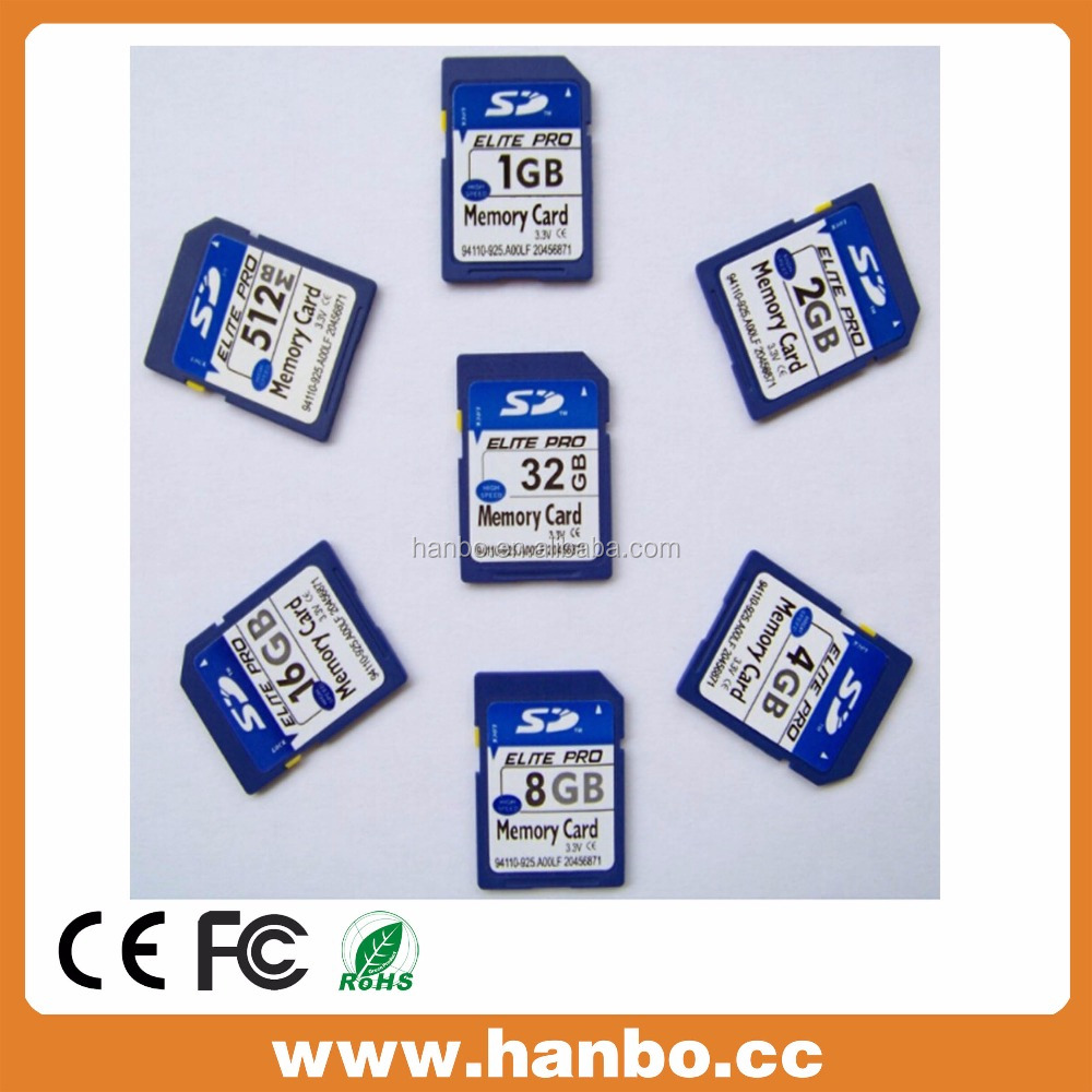 Bulk 8GB 16GB 32GB Custom CID SD Card Memory Card for Car GPS Camera