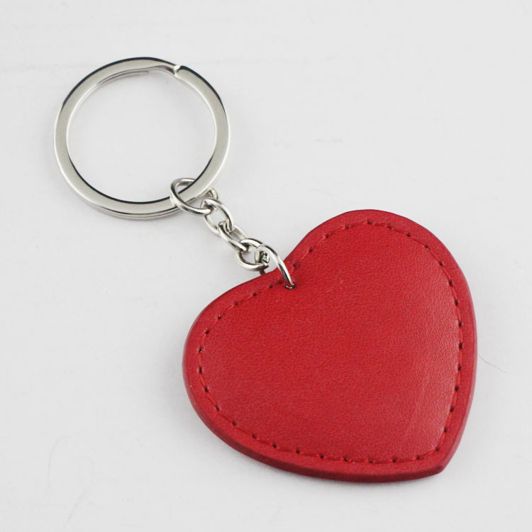 Heart Keychain Key Fob Red New Key Chain Charm For Purse Bag Tote pendant