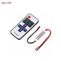 Factory Price 12V RF Mini Wireless Controller LED Dimmer Led Mini Controller