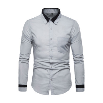 High standard fast delivery blank comfortable wholesale man shirt