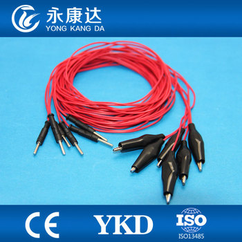 Colored EEG cable,eeg cable with electrode,Din1.5 eeg cable for medical,20leads/set with CE&ISO13485 proved
