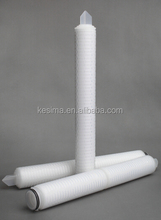 "20"" Length 100% integrity test PES micron filter suitable for pharmaceutical industry final stage filtration"