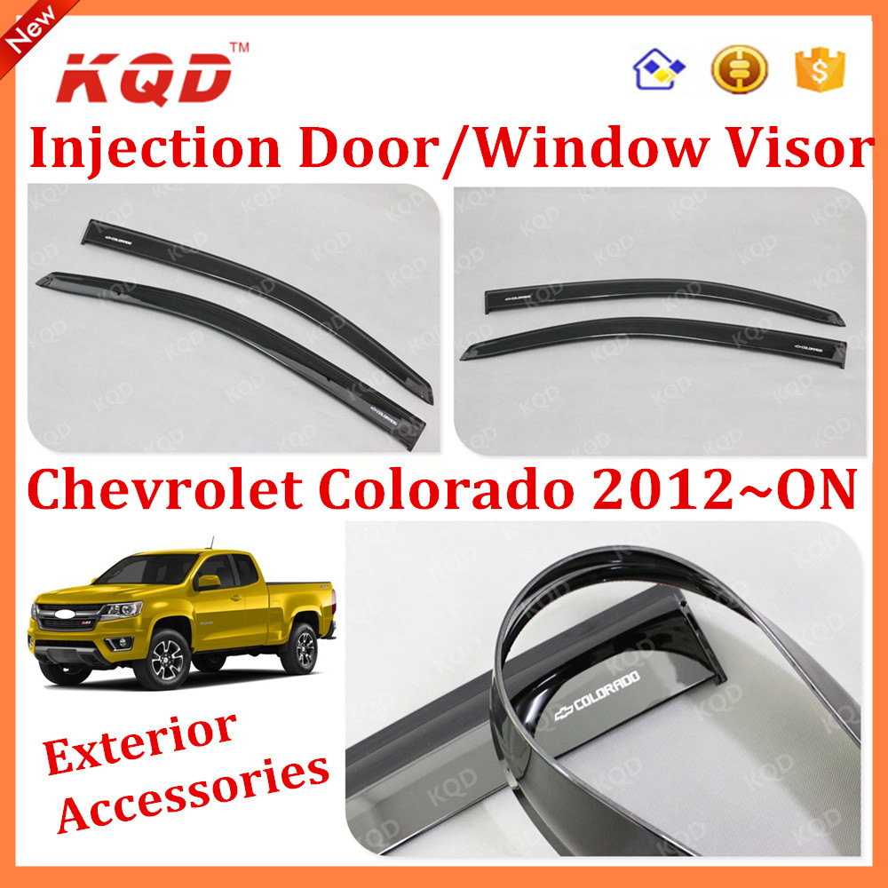 2012 Chevrolet Colorado Accessories Colorado Exterior Accessories Window Visor Injection Window Visor For Colorado 2012