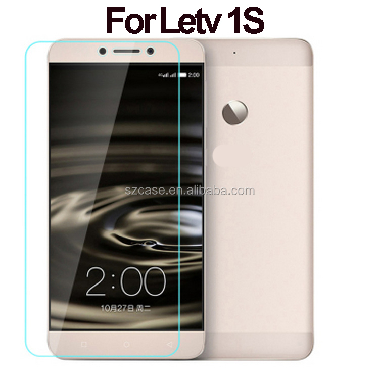 High quality screen protector mobile phone 0.33mm 9H tempered glass screen protectors for Letv 1S