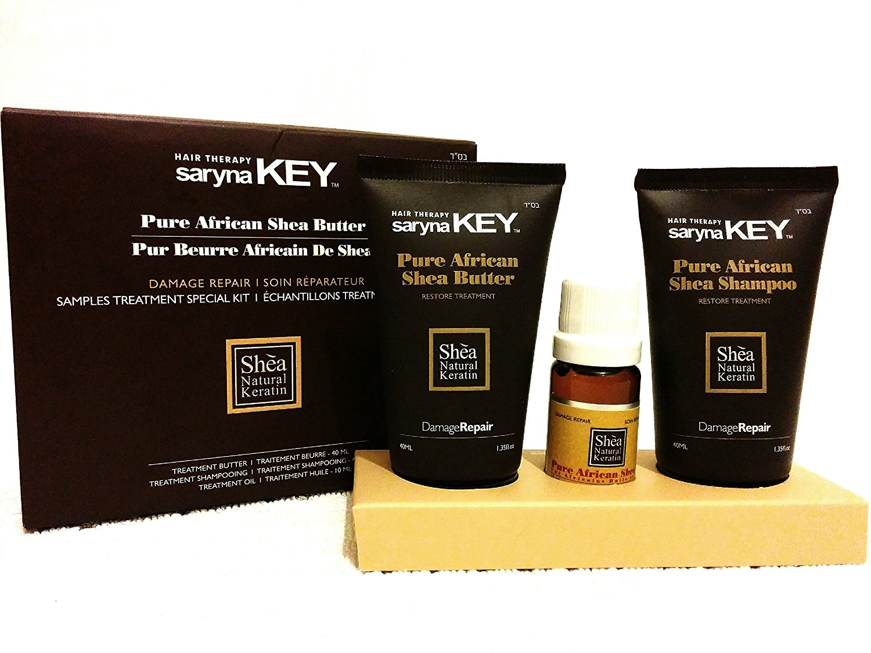 Saryna Key 3 in 1 Set of Pure African Shea Shampoo + Pure African Shea Butter + Pure African Shea Oil