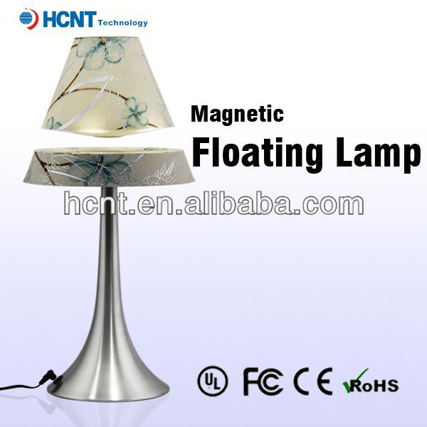 Best sell magnetic floating led lmap, umbrella table lamp