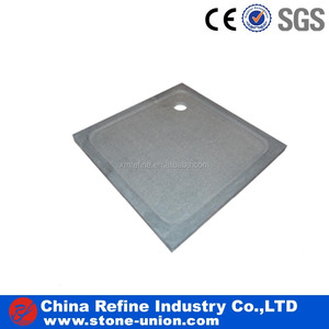 China supplier granite round shape shower tray for bathroom