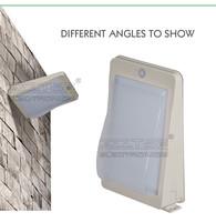 3w Wall Mounted Motion Sensor Outdoor Led Solar Light,Solar Wall ...