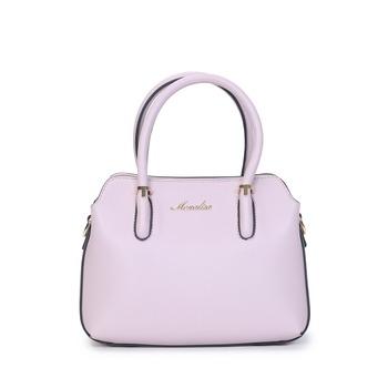 High Quality Guangzhou China Short Handle Pink Private Label Famous Designer Brands Online Lady Handbag Manufacturer