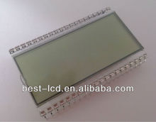 Transparent Segments & Icon LCD Display