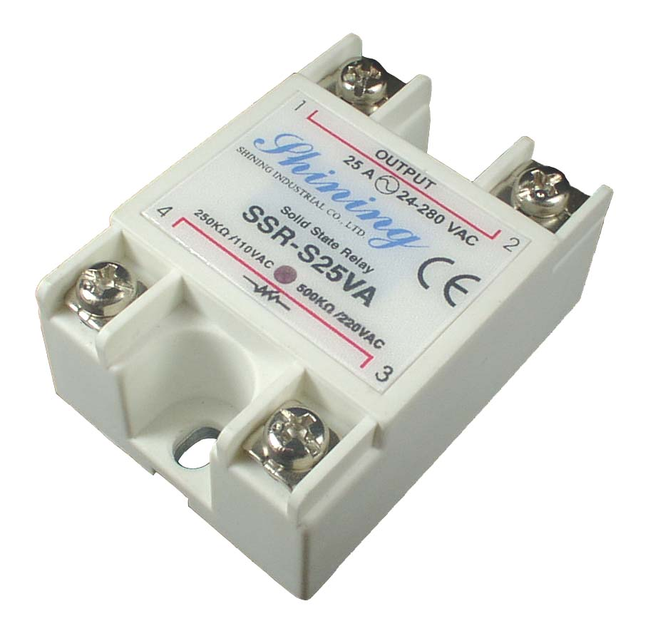 SSR-S25VA-H Adjustable 25A VR To AC Potentiometer Solid State Relay