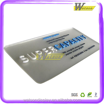 Custom plastic transparent business cards with embossing words buy custom plastic transparent business cards with embossing words colourmoves
