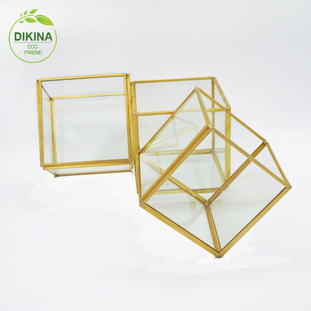 Hanging Geometric Glass Terrarium Wholesale Clear Glass Vase With