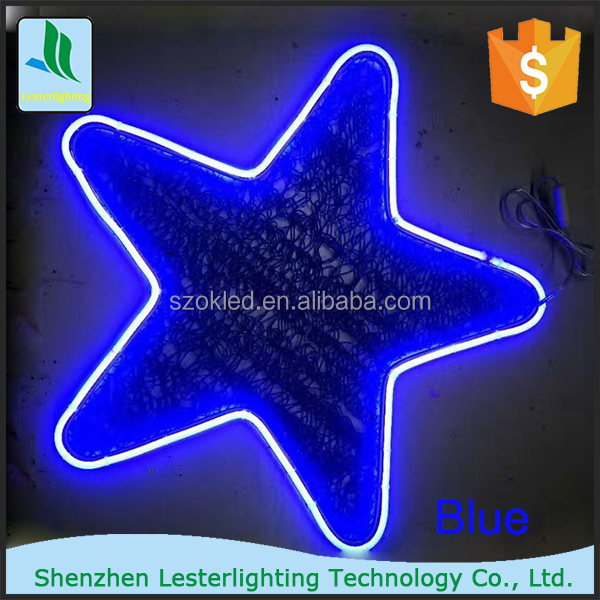 Holiday Decorations Clear Star Shape Christmas Lights, Led Star Light