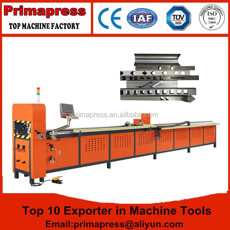 automatic Tube Punch Machine tube drilling machine with square hole for window making