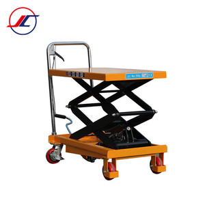 Mini small hand lift table lifting mobile mini scissor lift platform