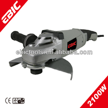 EBIC used concrete floor grinding machine 2100W electric hand held concrete angle grinder