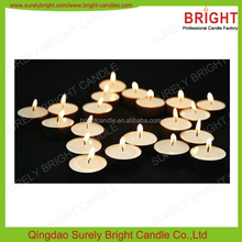 Wedding Decorative Cheap White Pressed Tealight Candles