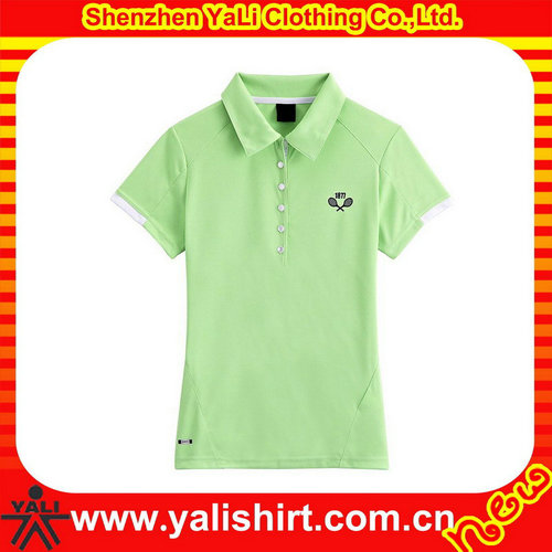 High quality custom ladies polo t shirt dri fit jersey sports wear