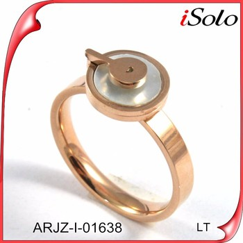 New design la s finger ring 1 gram gold ring new model ring