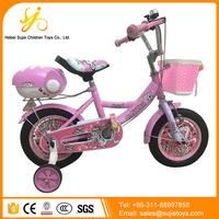 Kids Bike with Doll Seat / Wholesale Brand New White Tire Kids Bike / Best Rated Kids Bikes