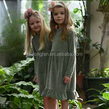 Green Velvet Dress Australia Winter 2017 Fashion Clothing Super Soft
