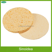Cosmetic Compressed Cellulose Sponge for cosmetic facials, cleansing face, aesthetics, estheticicans, make up