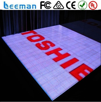 barco large stadium led display screen led portable dance floor
