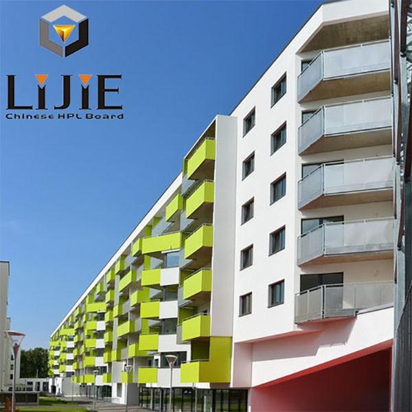 Elegant 2016 LIJIE High Pressure Phenolic Resin Laminate Formica Exterior Wall  Siding Panel