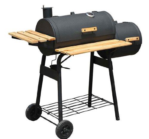 Backyard Charcoal Bbq Grill Offset Smoker