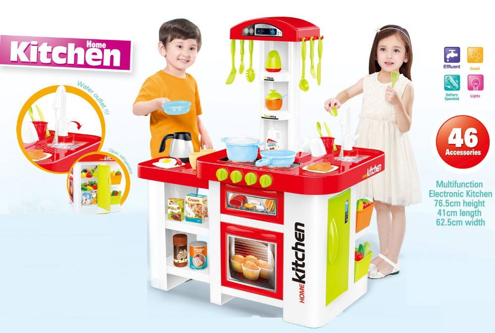 Good sell cooking games kids kitchen set toy for girls for Kitchen set game