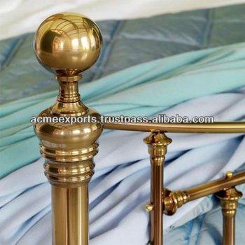 Brass Beds Parts Knobs Buy Brass Oval Knob Brass Knurled