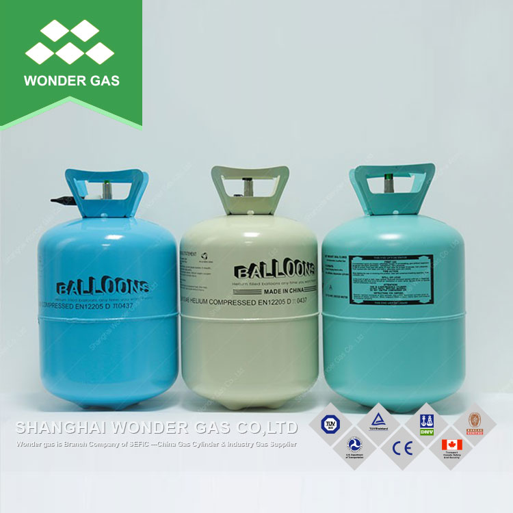 Light Weight Helium Gas Cylinder Small Size 50Lb