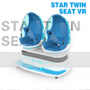Low Price 9d vr egg machine 9d cinema motion theater 9d vr simulator wholesale by Zhuoyuan