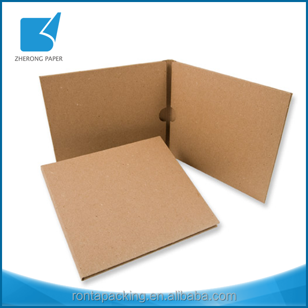 Digital printing reusable paper sleeve cd box set packaging