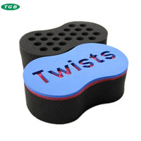 8shaped Hair Twists Sponge,super hot curl sponge brush.