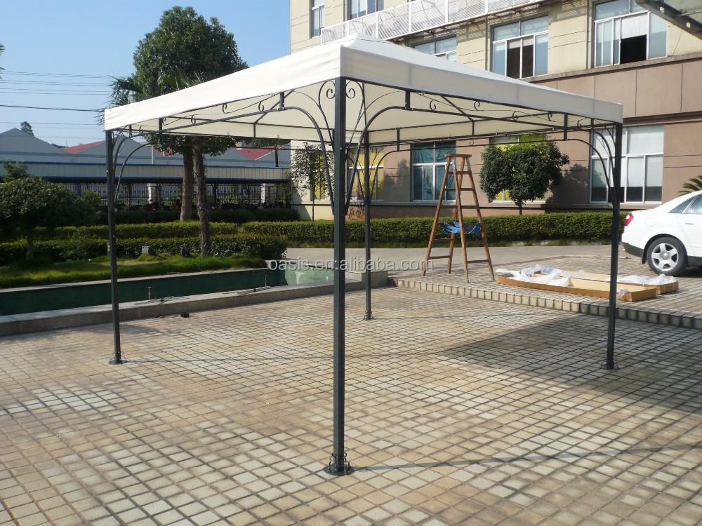 3X3 m/3X4 m patio gazebo marco de acero de toldo pérgola cubierta ...