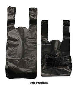 wholesale 9*15 inch Dog Poop Waste Pick-Up Bags with Handles