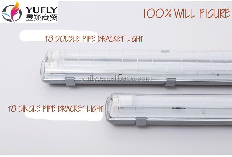 T8 2x36w T5 2x28w Ip65 Ip54 2x40w Waterproof Fluorescent Lamp ...