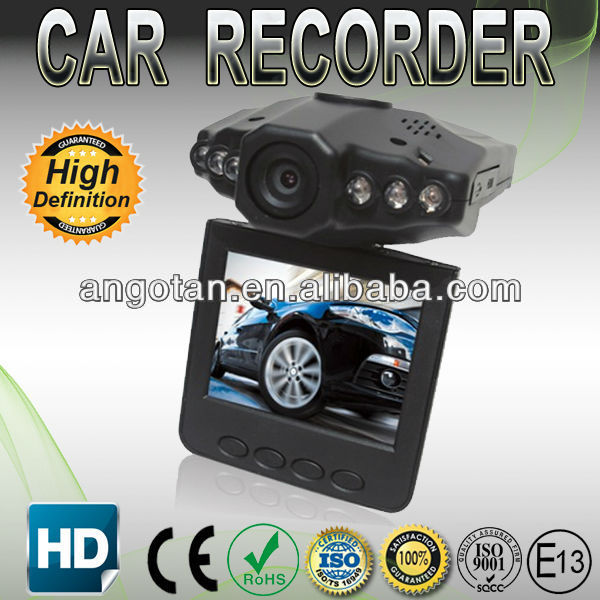 2.5 Inch 270 Degree Flip Color Screen Six Lens Night Vision dvr Car Camera