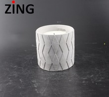 Factory Price Cement Candle Jar with Good Soy Wax /pop Concrete Candle Jar /holders for Home Decoration