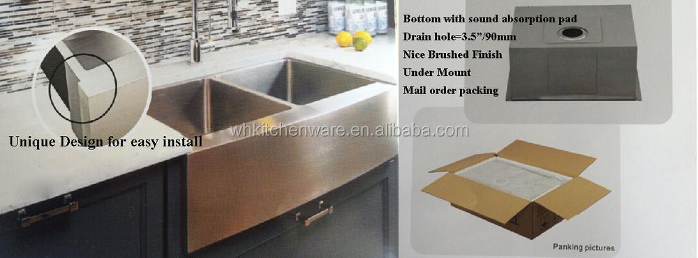 American Design R0/r10 Handmade Kitchen Sink Basin Washing Basin ...