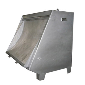 Static Sieve Screen as slaughter wastewater treatment