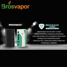 China supplier stock offer wholesale Wismec Reuleaux 200w TC Mod , WISMEC Reuleaux RX200 with tugboat v2 rda