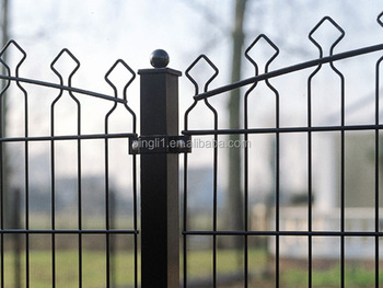 Pvc Coated Galvanized Double Horizal Wire Prestige Fence And Decofor ...